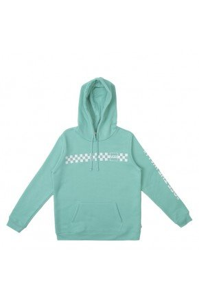 moletom vans feminino mixed up fun hoodie verde cascata hyped 91