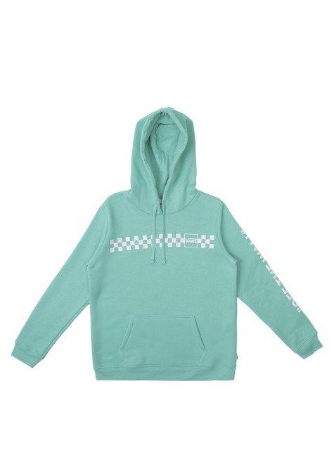 moletom vans feminino mixed up fun hoodie verde cascata hyped 91