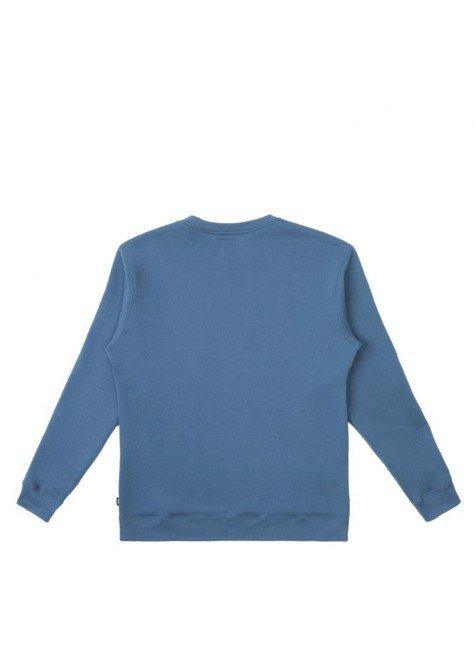 moletom careca vans basic crew fleece azul moroccan hyped 91 2