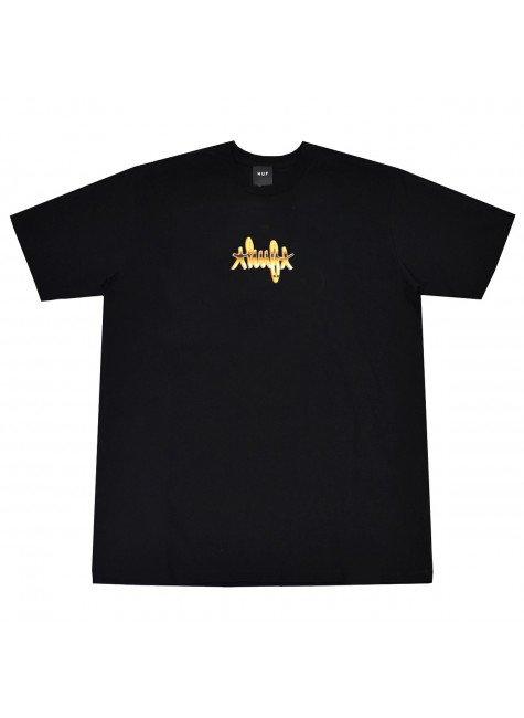 Camiseta HUF Landmark Masculina Preta   Hyped 91