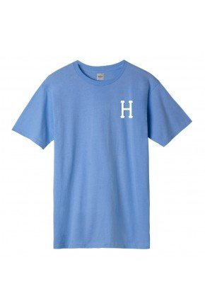 camiseta huf essentials classic azul marinho hyped 91