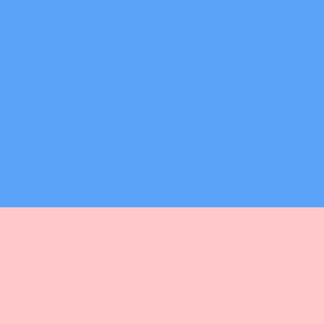 Azul Claro/Rosa
