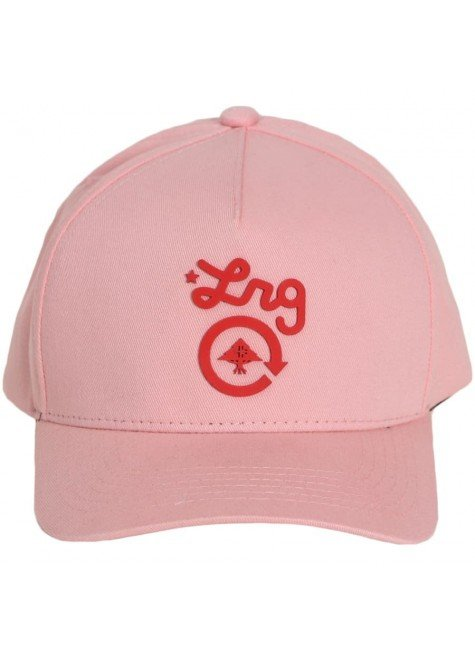 bone lrg aba curva logo cycle snapback rosa hyped 91