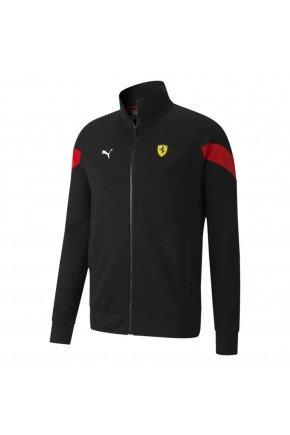 jaqueta scuderia ferrari racing mcs masculina preto 3 copia