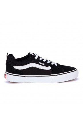 tenis vans wm filmore suede canvas black white hyped 91