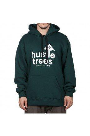 moletom lrg canguru hustle trees verde escuro hyped 91