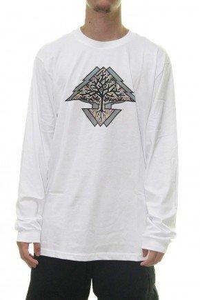 camiseta lrg manga longa motherland branco hyped 91