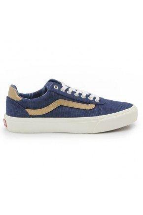 Tnis Vans Ward Deluxe Comfort   Azul Marinho Marrom