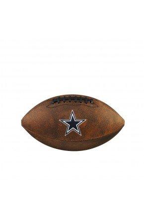 bola de futebol americano dallas cowboy wilson marrom hyped 91