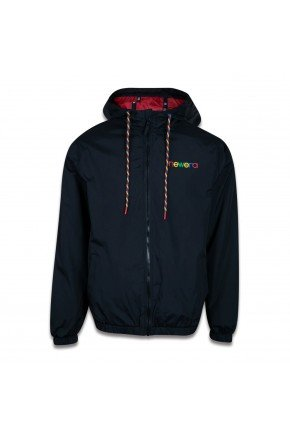 jaqueta corta vento new era colors masculino preto color hyped 91