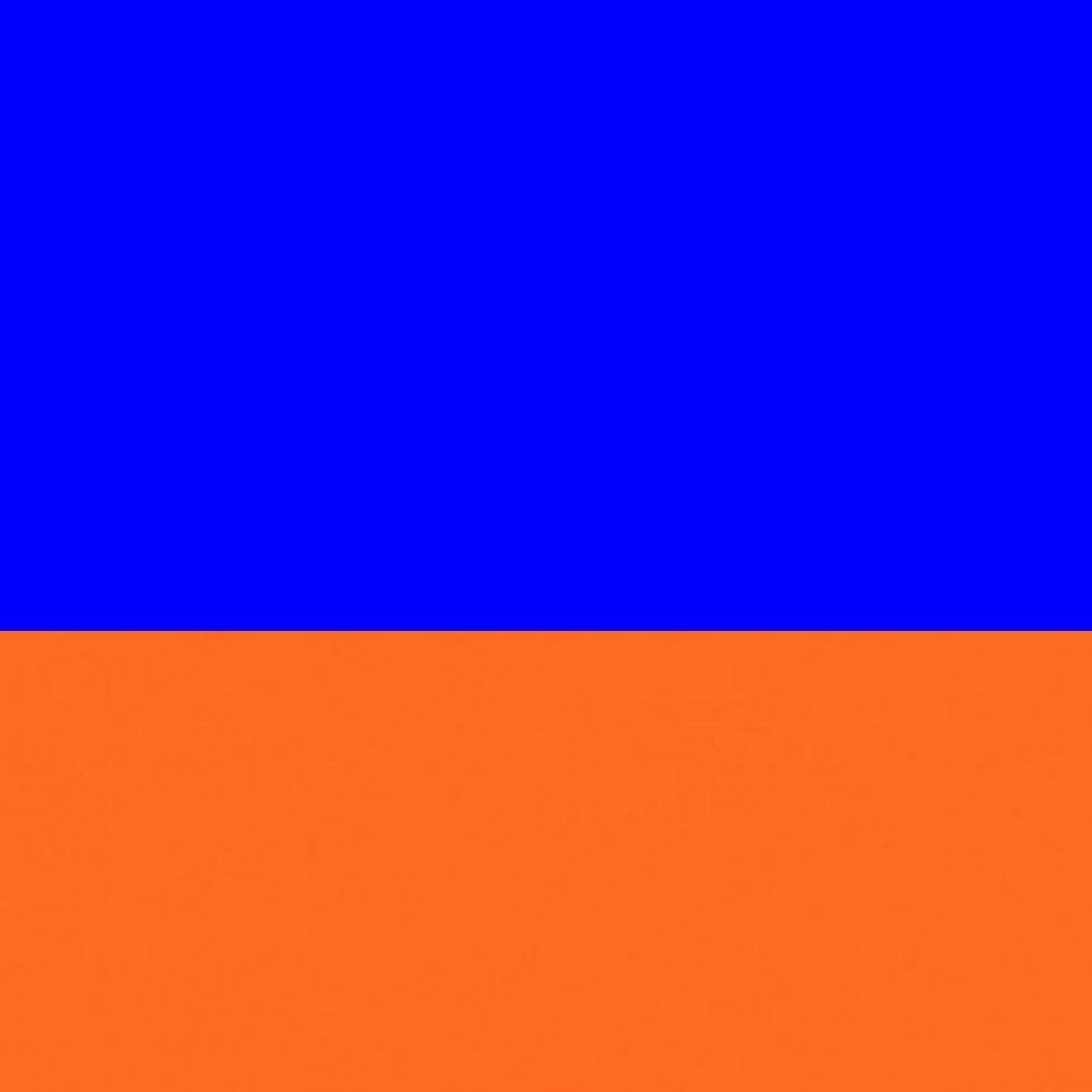 Azul/Laranja