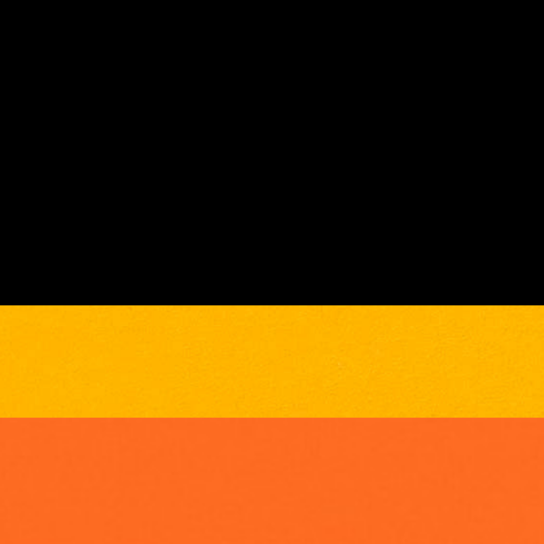 Preto/Amarelo/Laranja