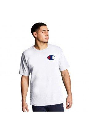 Camiseta Champion Life Patch C Masculina   Branco   hyped 91