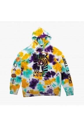 moletom dgk tie dye psychedelic hooded fleece hyped 91