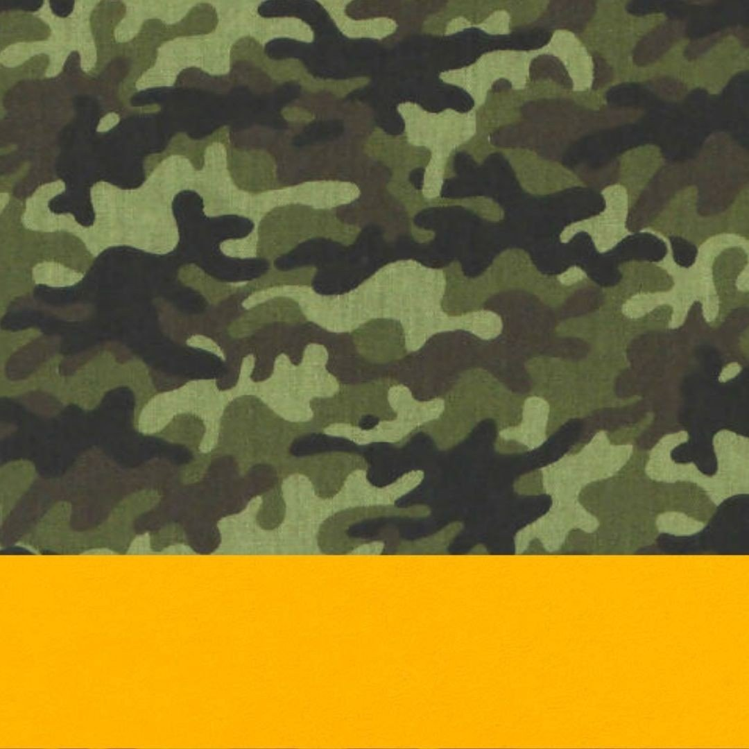 Camuflado/Amarelo