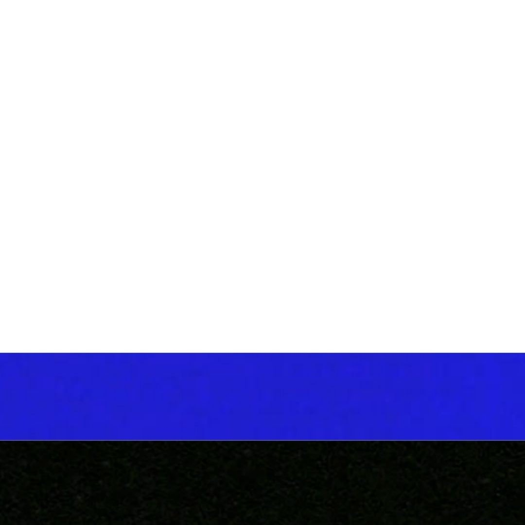 Branco/Preto/Azul