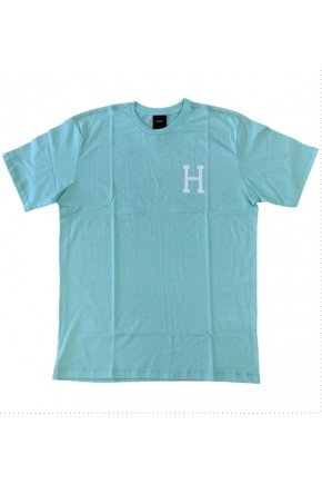 camiseta huf global trip verde claro hyped 91
