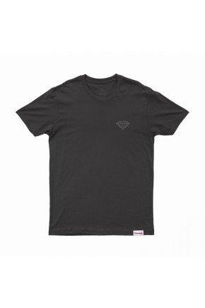 camiseta diamond brilliant preto hyped 91
