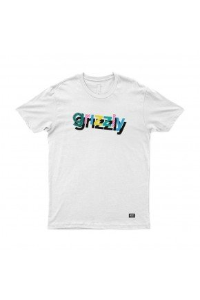 camiseta grizzly to the max the branco hyped 91