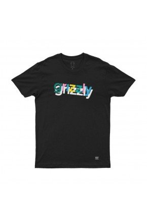 camiseta grizzly to the max the preto hyped 91