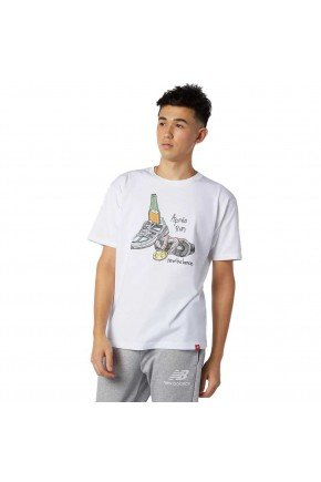 camiseta new balance essentials victory off white hyped 91