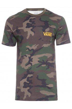 Camiseta Vans OTW Classic Masculina   Camuflado Amarelo   hyped 91