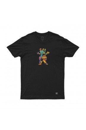 camiseta grizzly fungi og bear tee feminina preto hyped 91