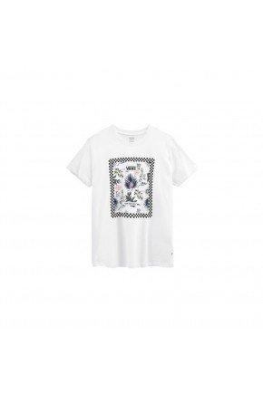 camiseta vans feminina border floral bf branco hyped 91