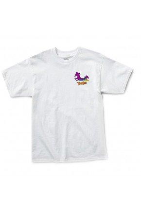 camiseta thank you stoneage dactyl tee branco hyped 91