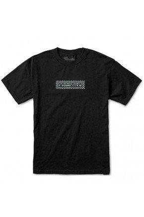 camiseta primitive finish line hologram foil preto hyped 91