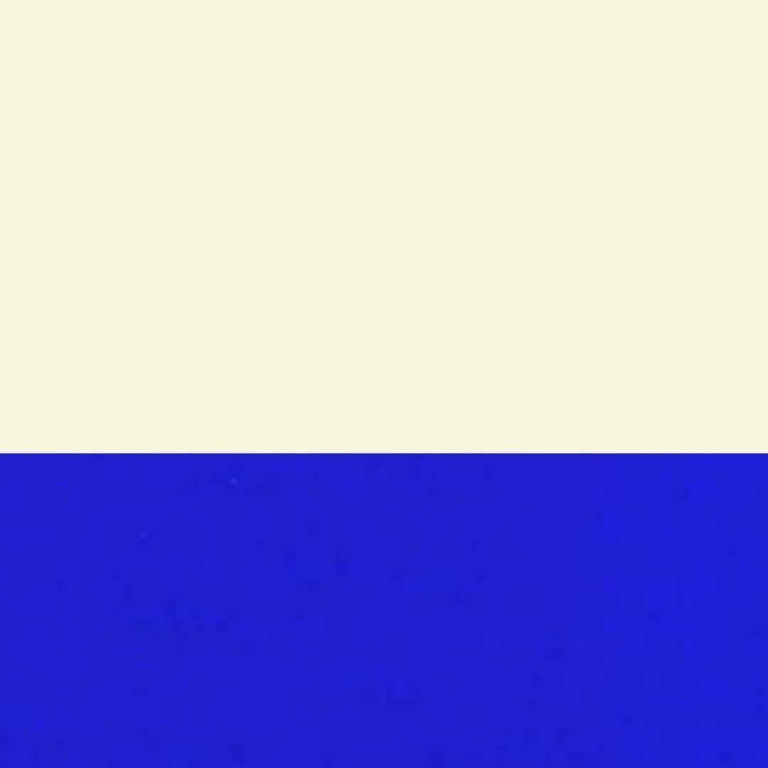Bege/Azul
