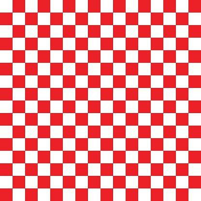 Checkerboard Vermelho