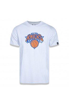 camiseta new era nba new york knicks logo branco hyped 91