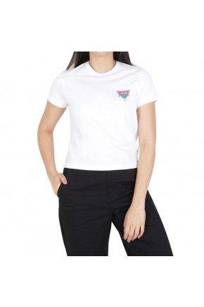 camiseta vans feminina cheetah triad branco hyped 91