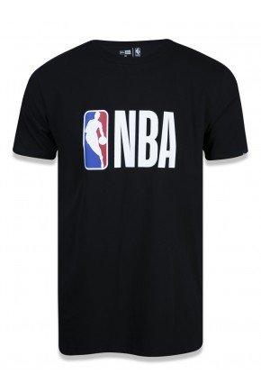 camiseta new era nba essentials logo masculina preto hyped 91