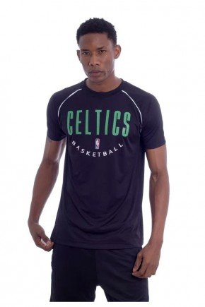 camiseta nba boston celtics special masculina preta verde hyped 91