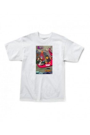 camiseta thank you stoneage tee masculina branco hyped 91