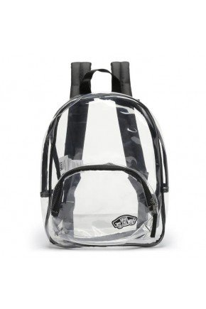 mochila vans clearing backpack clear transparente hyped 91 5