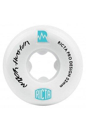 rodas de skate ricta pro design nyjah huston branco 51 mm hyped 91