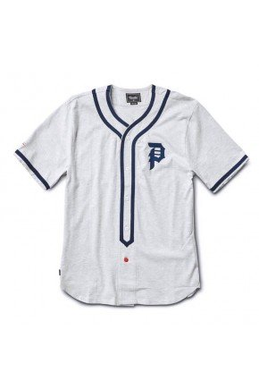 Camisa Jersey Primitive Tokyo Champs Masculina   Cinza   hyped 91