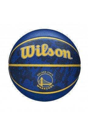 bola de basquete wilson golden state nba team azul amarelo hyped 91