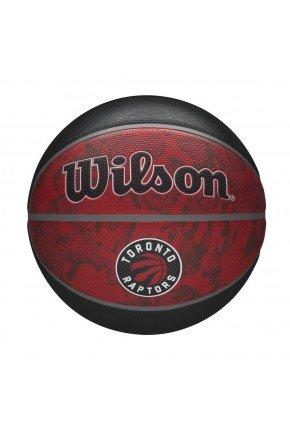 bola de basquete wilson toronto raptors nba team preto vermelho hyped 91