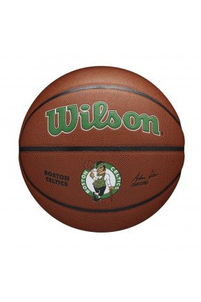 bola de basquete wilson boston celtics nba alliance marrom hyped 91