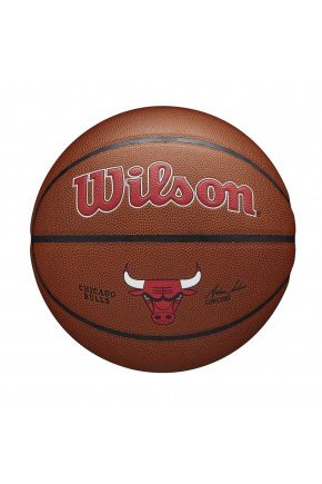 bola de basquete wilson chicago bulls nba alliance marrom hyped 91