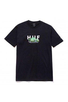 camiseta huf x street fighter bonus stage car preto hyped 91
