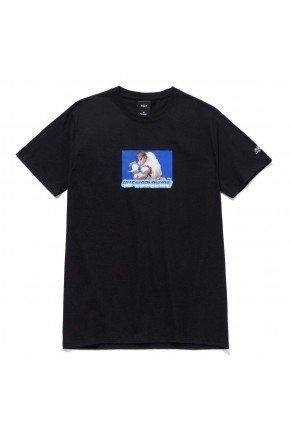 camiseta huf x street fighter ryu preto hyped 91