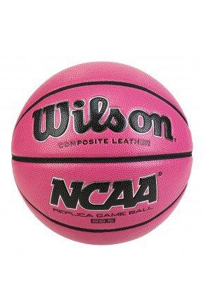 Bola De Basquete Wilson NCAA Game Ball rosa pink   hyped 91