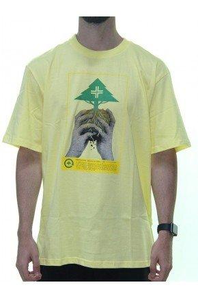 camiseta lrg arbor culture masculina amarelo hyped 91