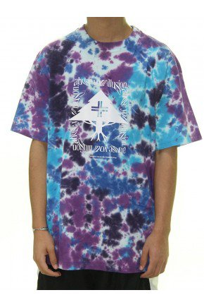 camiseta lrg abuse tie dye roxo masculina hyped 91