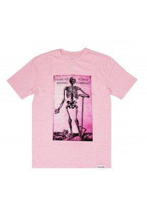 Camiseta Diamond Mining rosa pink   hyped 91